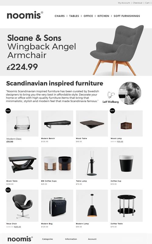 noomis scandinavian design
