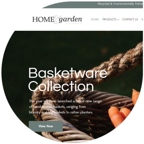 Home garden website